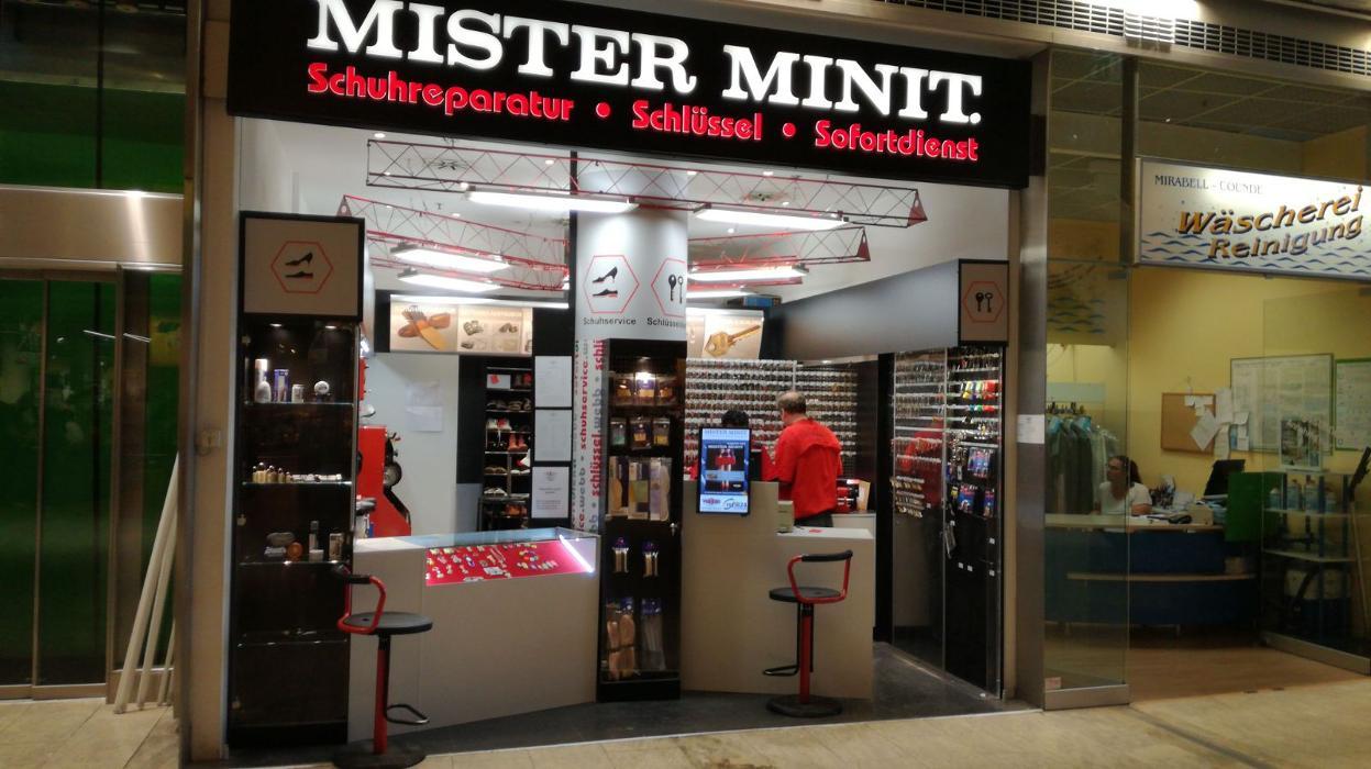 MISTER MINIT Schlüssel & Schuhreparatur • Salzburg