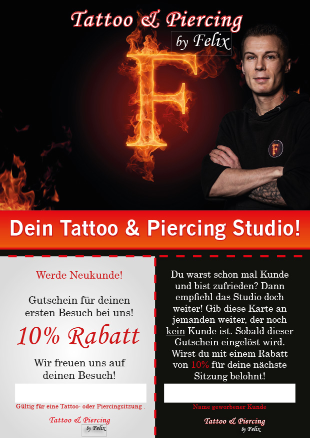 Tattoo & Piercing by Felix
