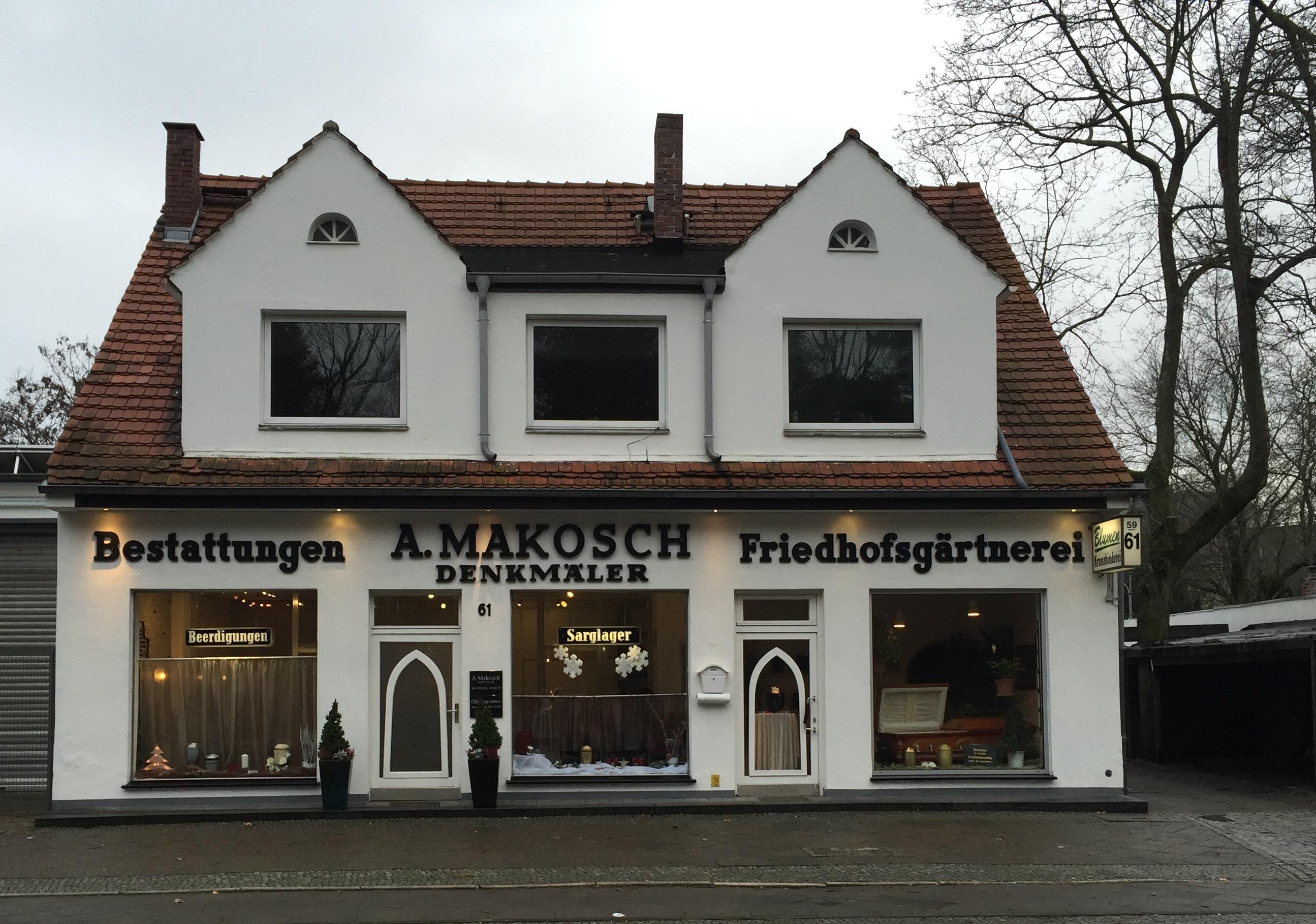 A. Makosch GmbH & Co. KG   Bestattungen