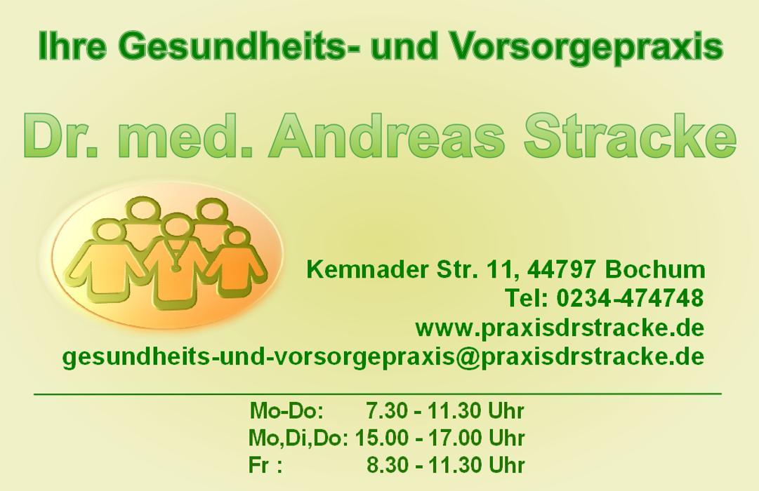 Bild zu Gesundheits-und-Vorsorgepraxis Dr. med. Andreas Stracke Bochum in Bochum