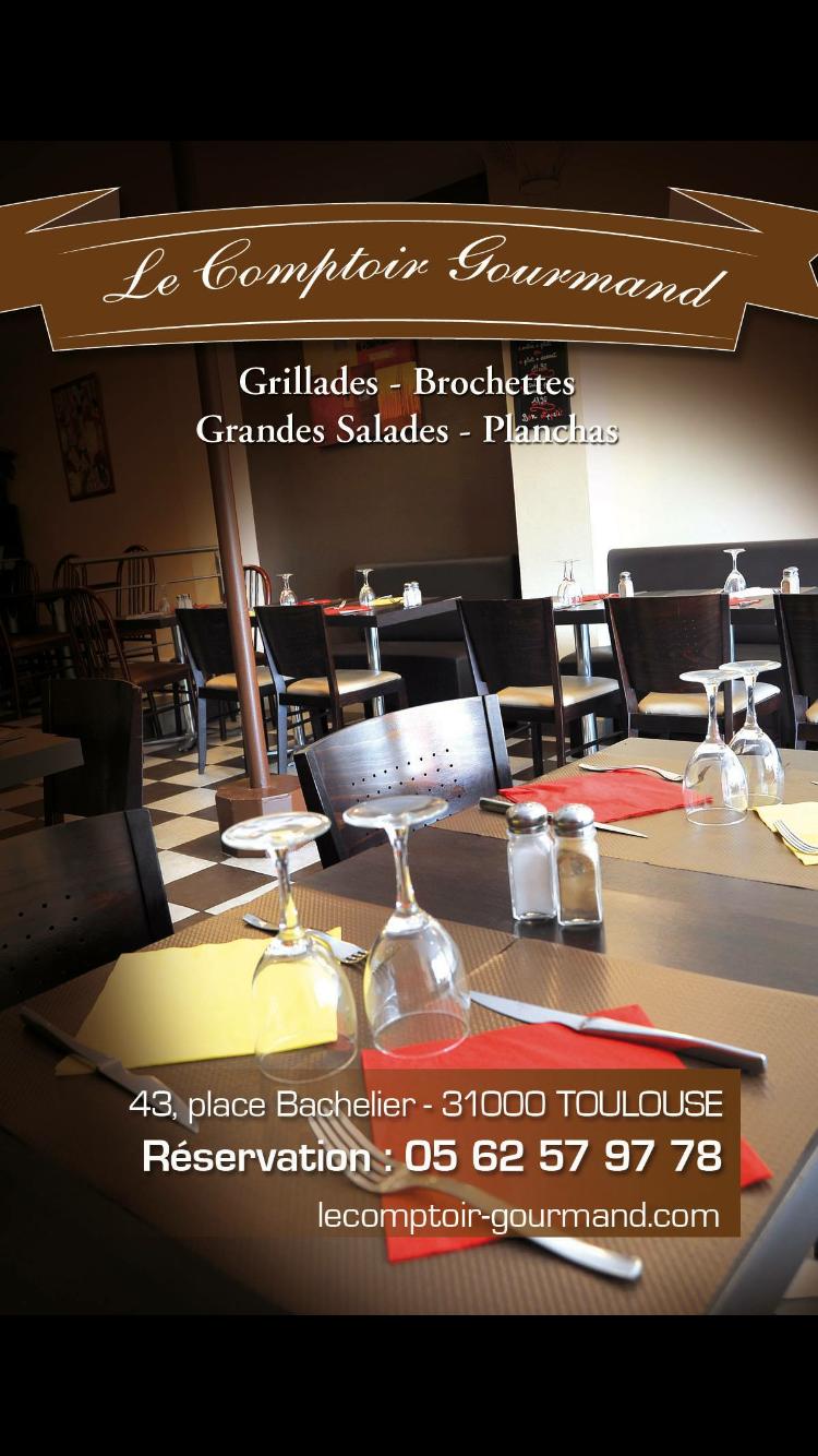 LE COMPTOIR GOURMAND Restaurant français