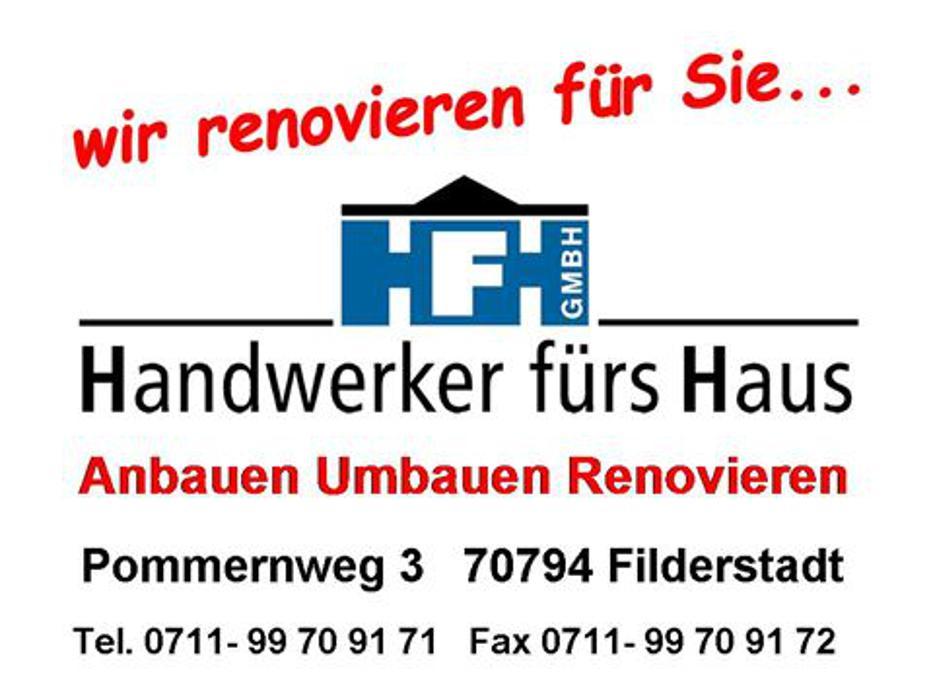 Bild zu Handwerker fürs Haus GmbH anbauen umbauen renovieren in Filderstadt