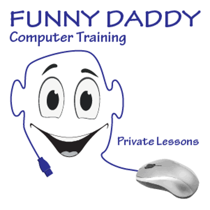 Funny Daddy Computer Training