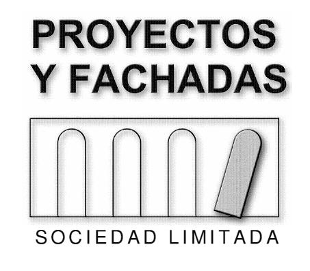 PROYECTOS Y FACHADAS, S.L.