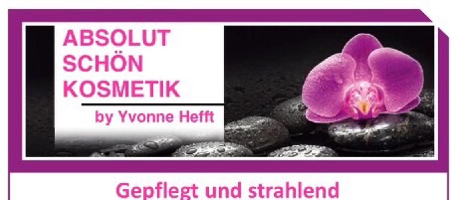 Logo von Absolut Schön Kosmetik Yvonne Hefft