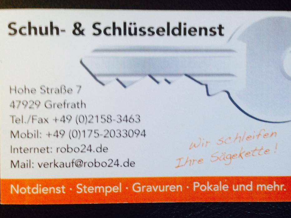 Bild zu RoBo Schuh & Schlüsseldienst Grefrath in Grefrath bei Krefeld