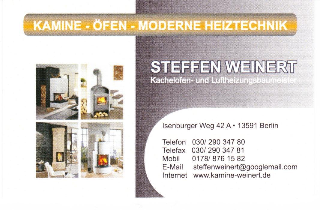 Bild zu Steffen Weinert Kamin und Ofenbau in Berlin