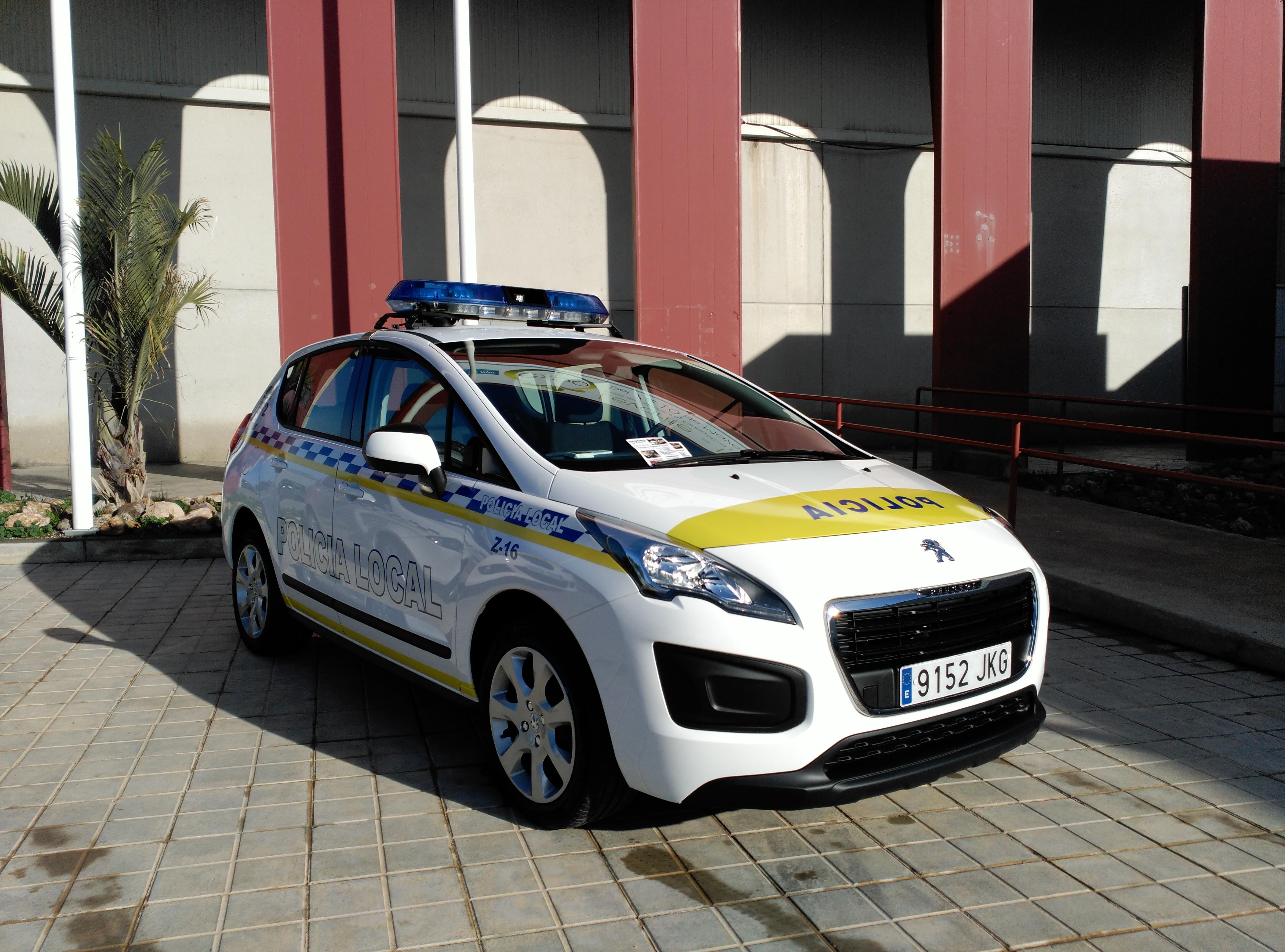 Reinting y Alquiler de vehículos policiales