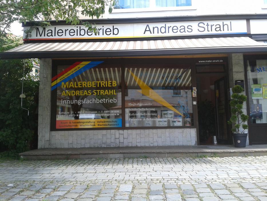Logo von Malerfachbetrieb Andreas Strahl ( Innungsbetrieb)