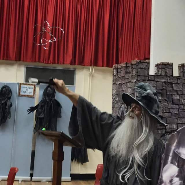 Wizard magician service.