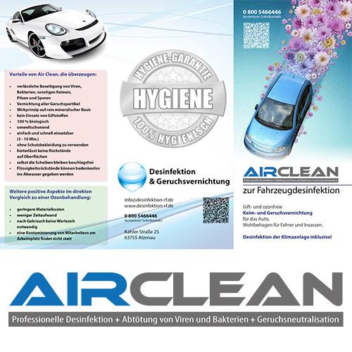 Air-Clean Desinfektion