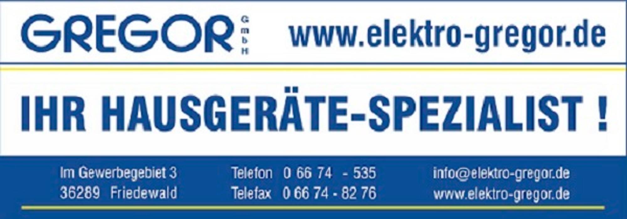 Bild zu Elektro Gregor GmbH in Friedewald in Hessen