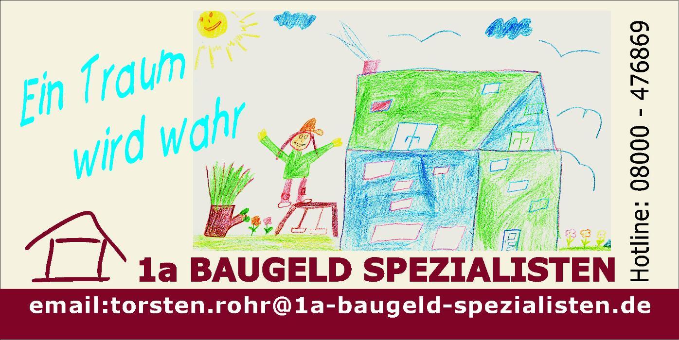 Logo von 1a BAUGELD SPEZIALISTEN Torsten Rohr
