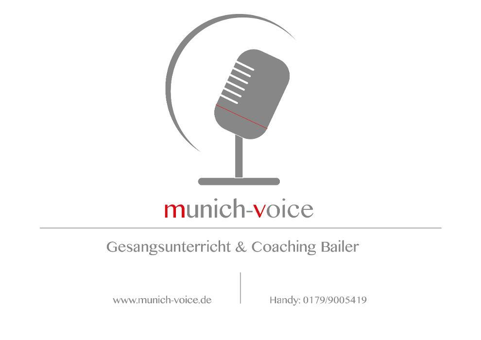Bild zu munich-voice Gesangsunterricht in München