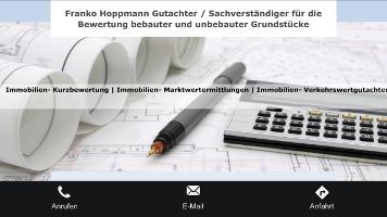 Gutachter / Sachverständiger für Immobilien Franko Hoppmann