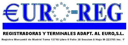 CAJAS REGISTRADORAS Y SISTEMAS CONTROL DE EFECTIVO EURO-REG