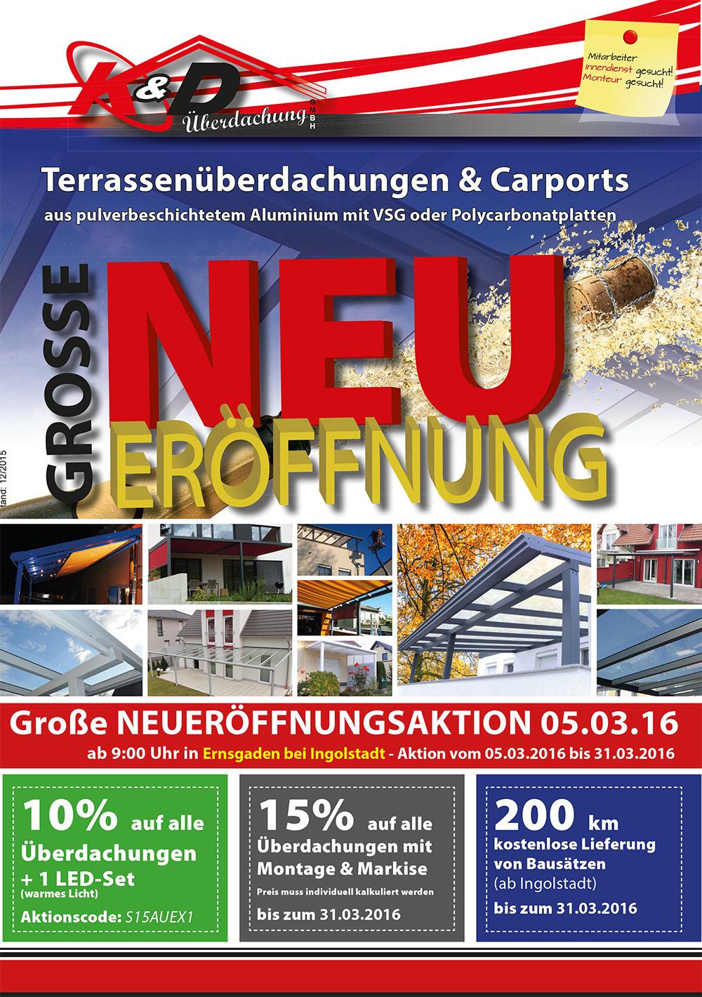 kd berdachung ingolstadt bauunternehmen ernsgaden deutschland tel 084527333. Black Bedroom Furniture Sets. Home Design Ideas