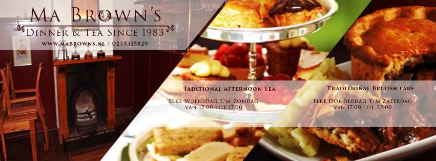 Ma Brown's Dinner & Tea
