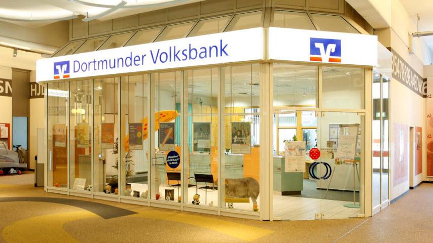 Geldautomat Dortmunder Volksbank