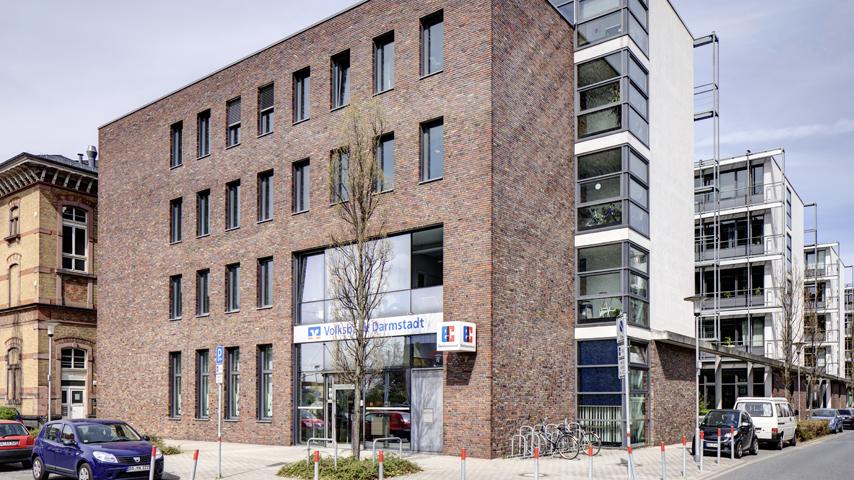 volksbank darmstadt s dhessen eg sb filiale b dinger stra e darmstadt banken darmstadt. Black Bedroom Furniture Sets. Home Design Ideas