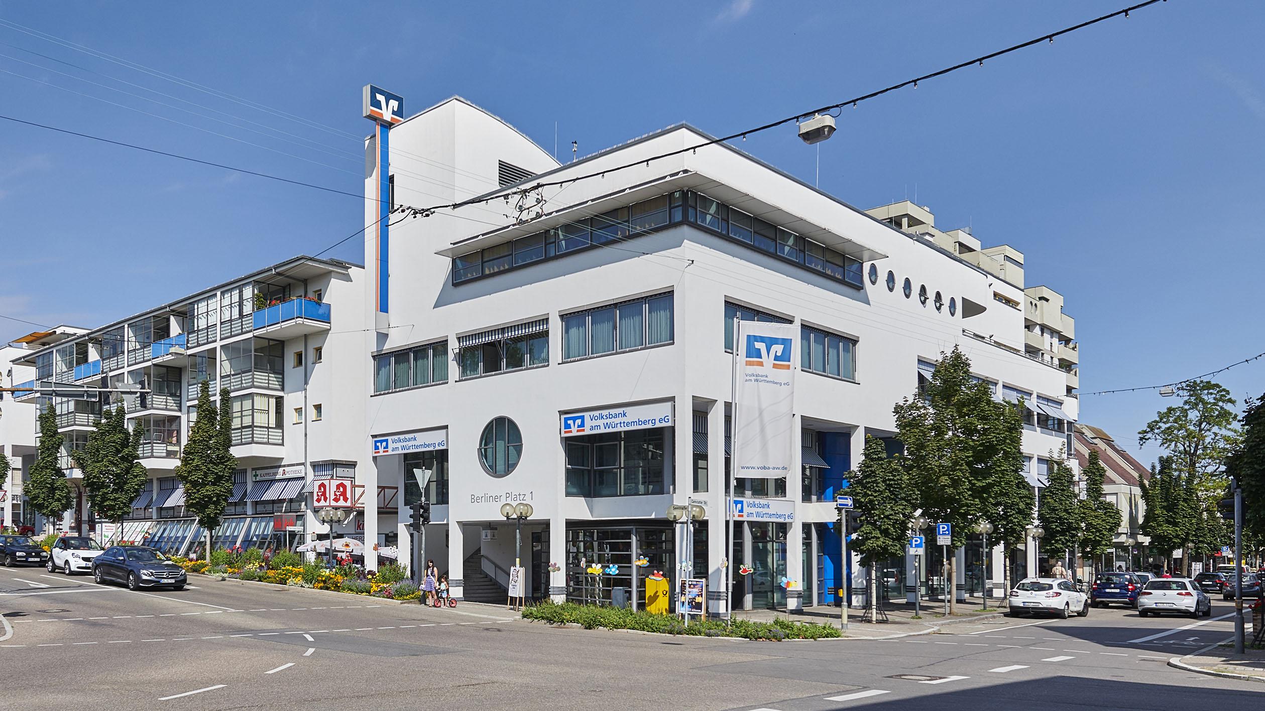 Volksbank Am Württemberg EG, Hauptstelle Berliner Platz In