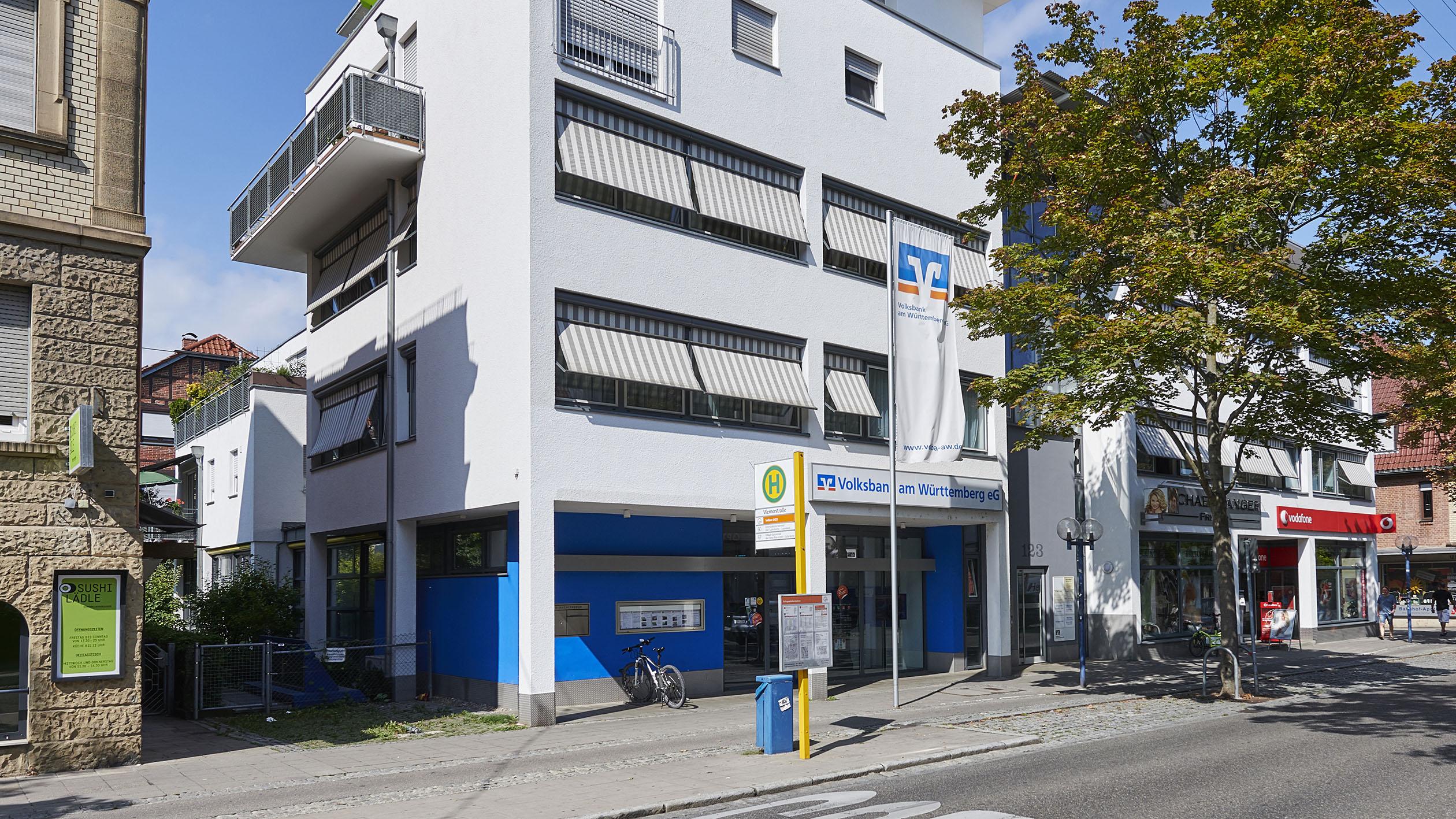 Volksbank am Württemberg eG, Filiale Bahnhofstraße