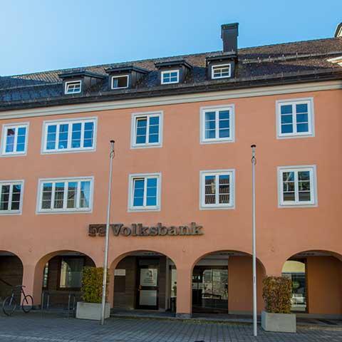 Volksbank Allgäu-Oberschwaben eG Hauptstelle Isny Bergtorstraße