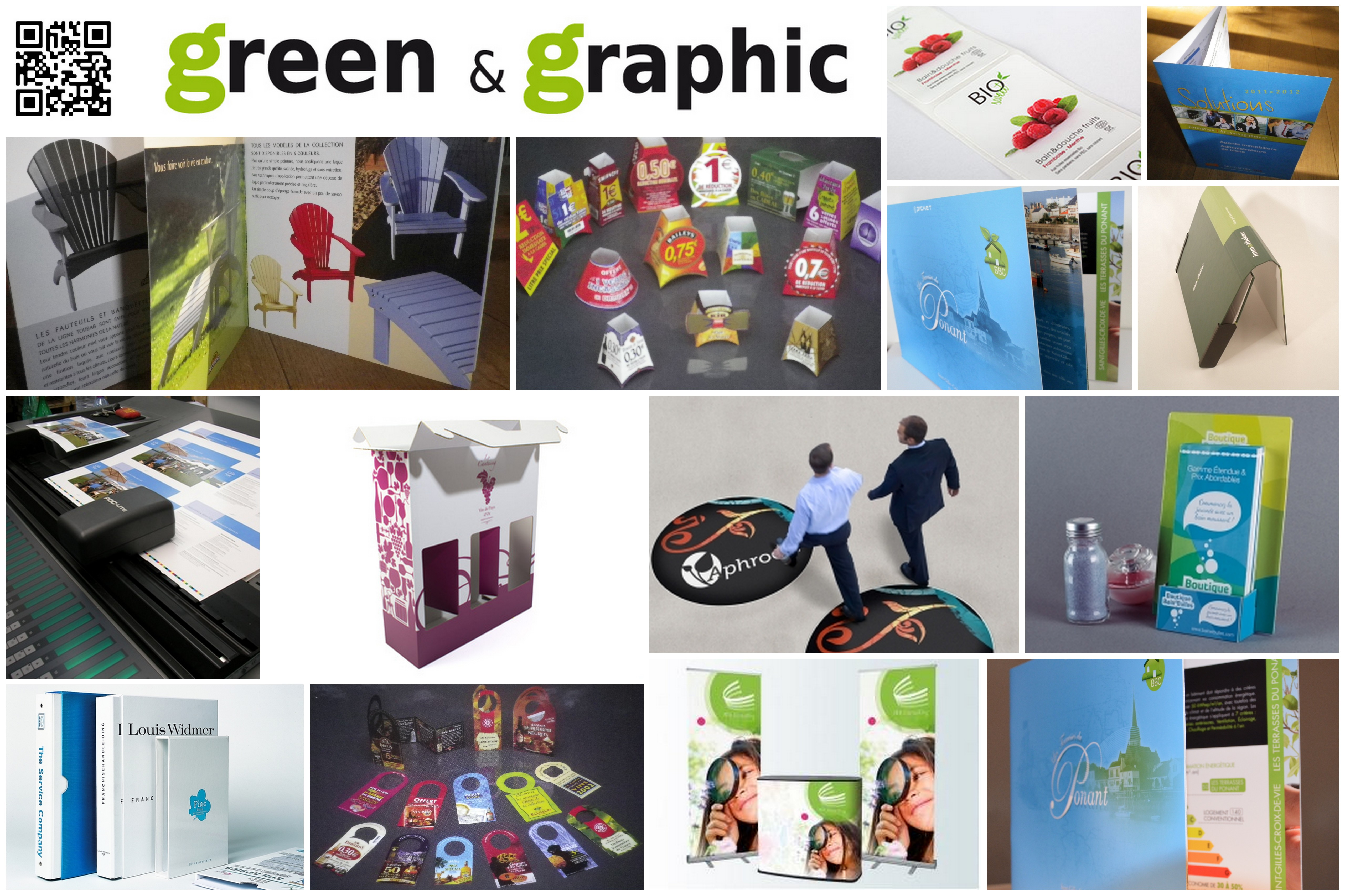 green et graphic