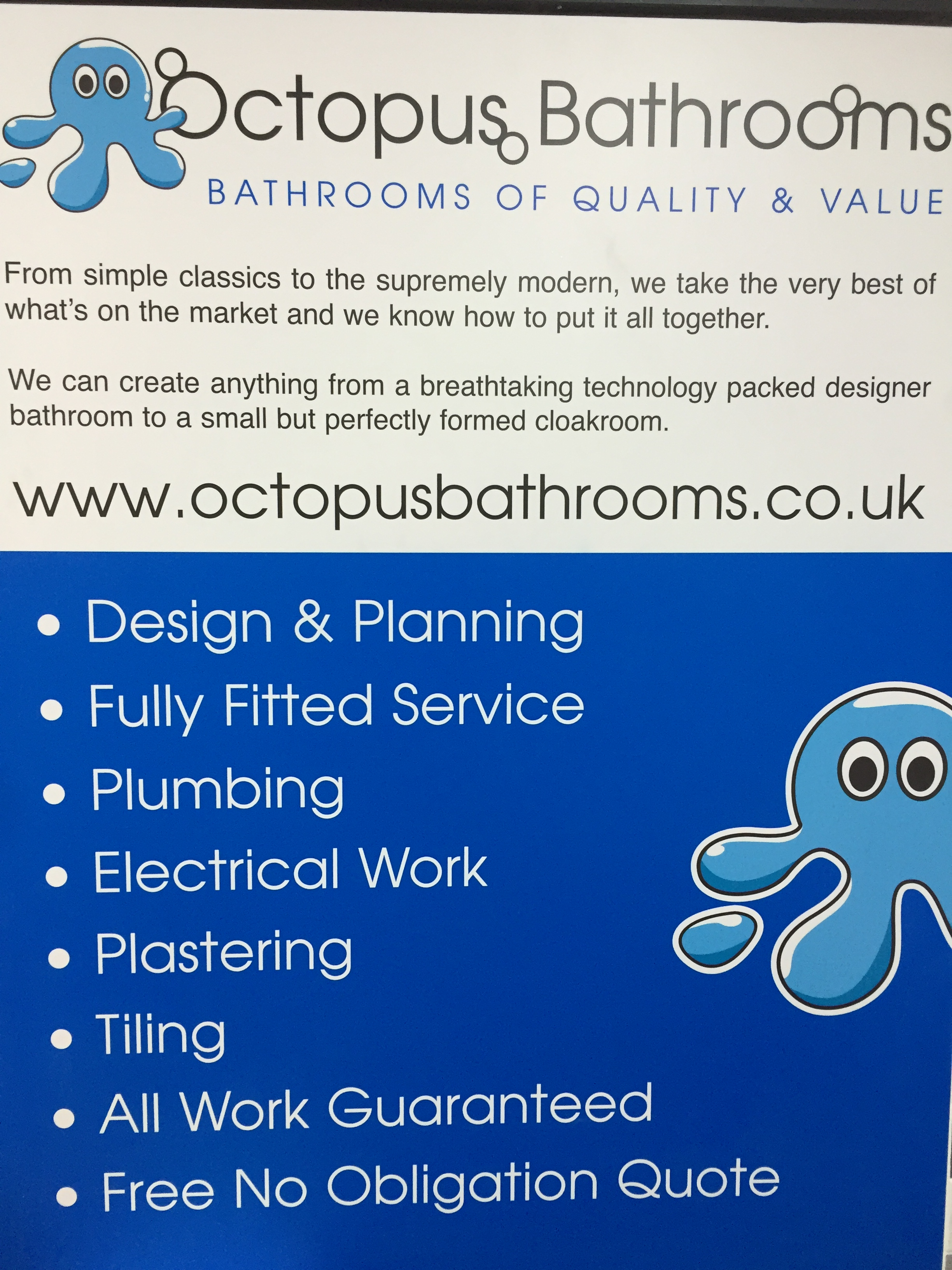 OCTOPUS BATHROOMS LIMITED
