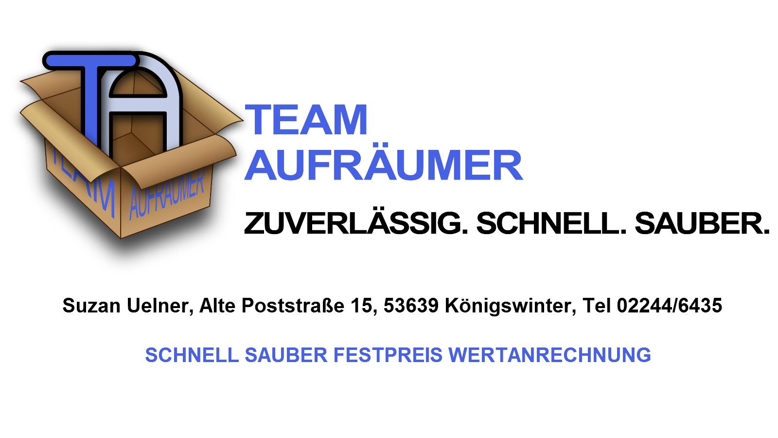 Suzan Uelner Team Aufräumer