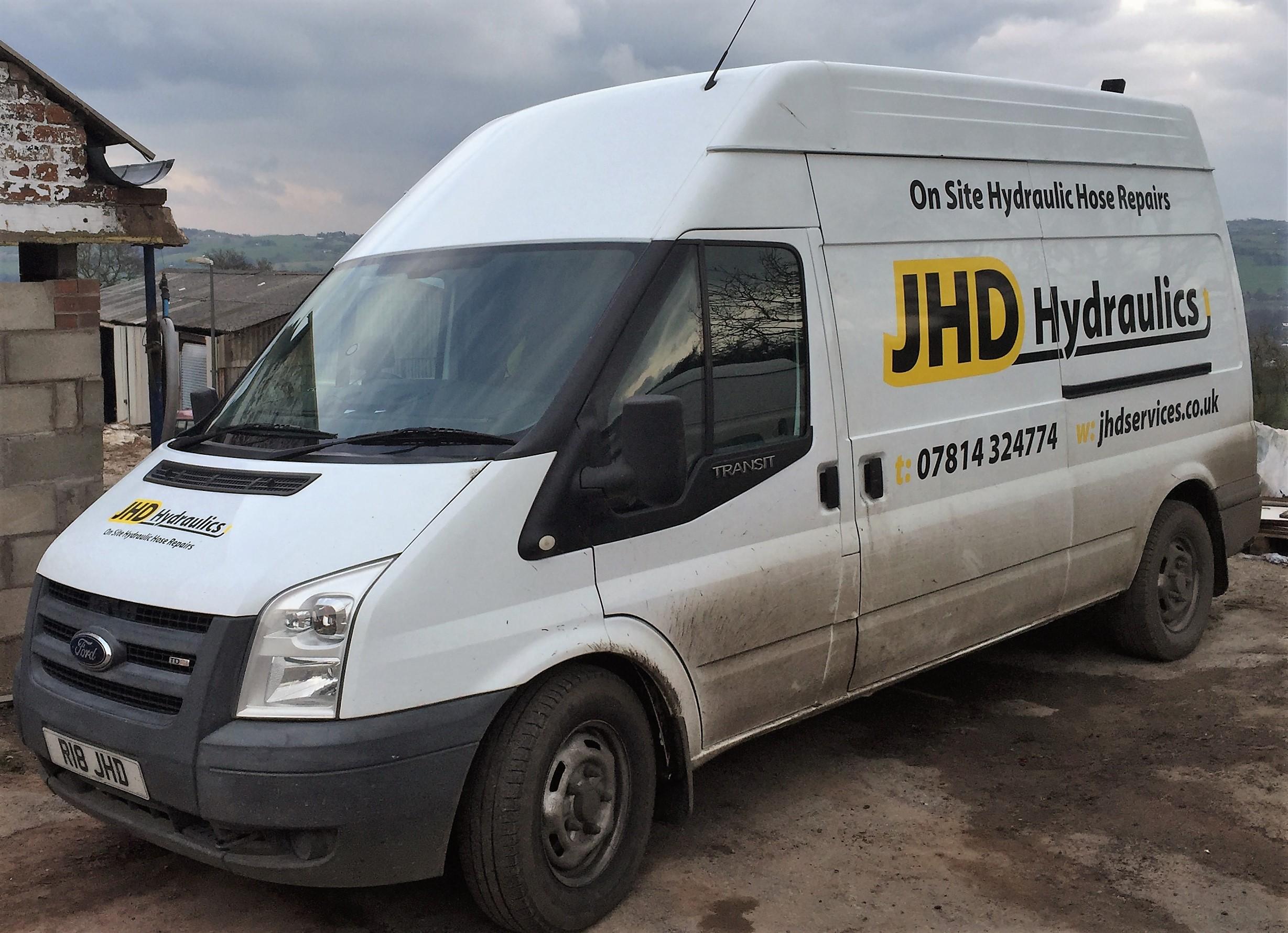 JHD Hydraulics - Knypersley, Staffordshire ST8 6PY - 07814 324774 | ShowMeLocal.com