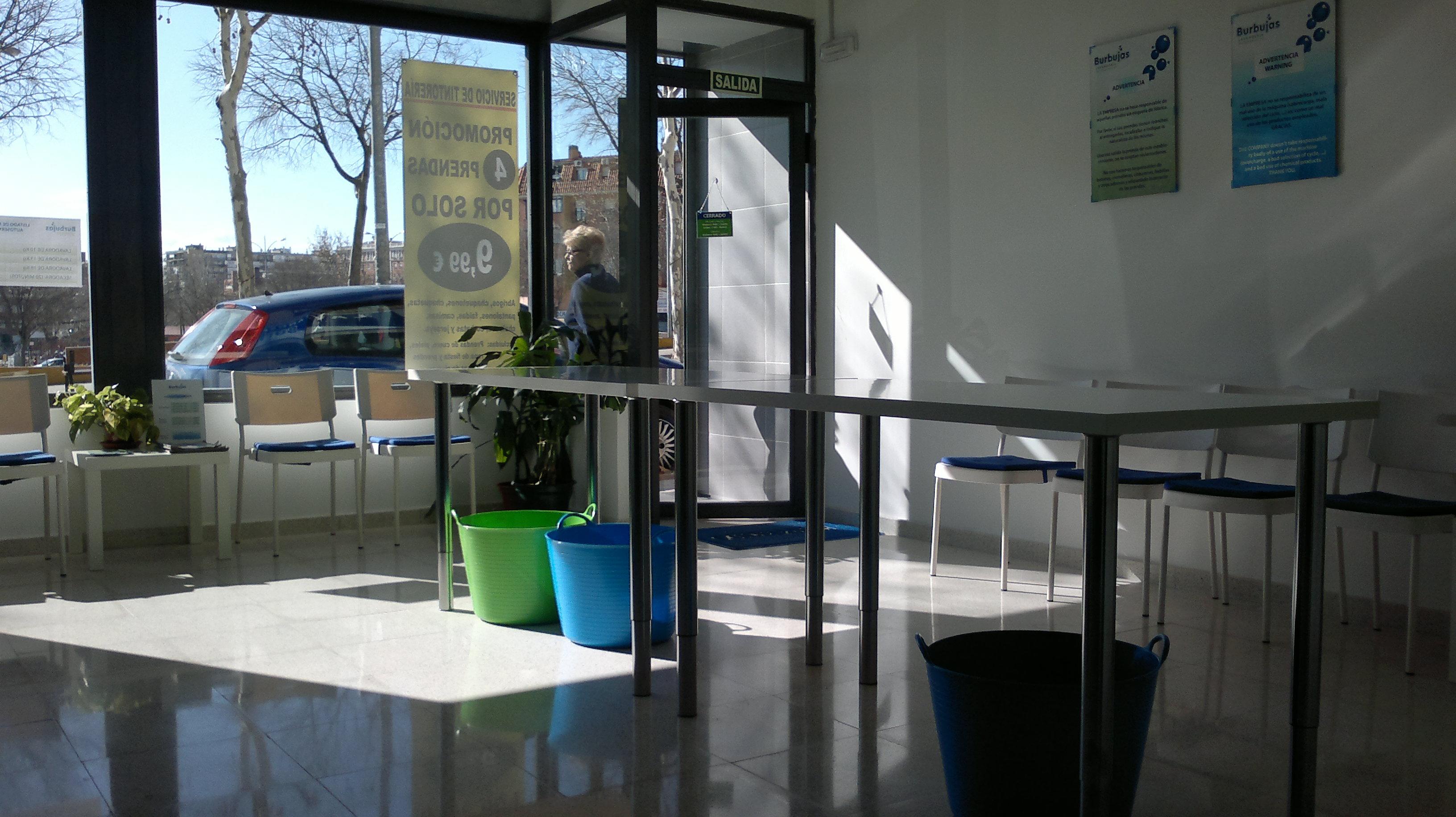 LAVANDERIA BURBUJAS