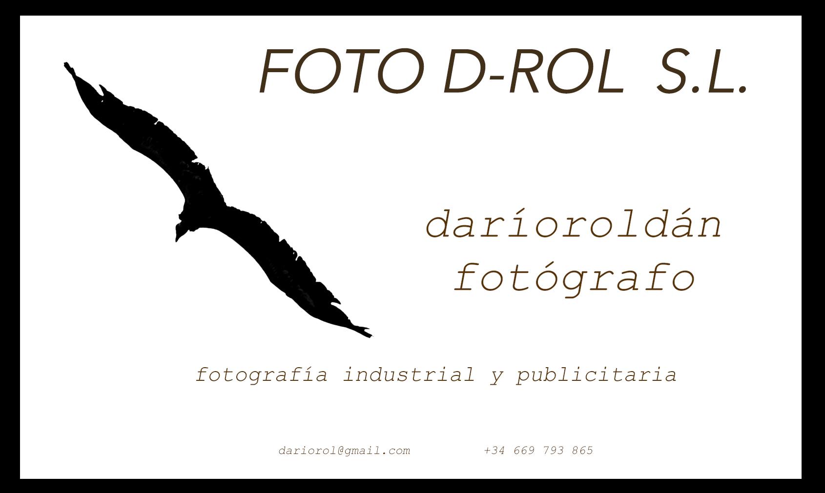 FOTOGRAFIA INDUSTRIAL Y PUBLICITARIA