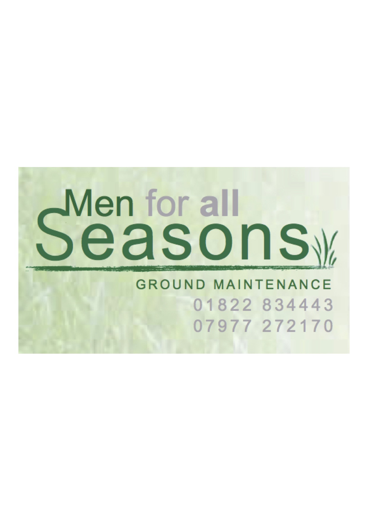 Men for all Seasons - Ground Maintenance - Drakewalls, Cornwall PL18 9BH - 01822 834443 | ShowMeLocal.com