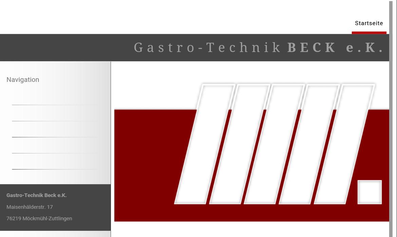 Bild zu Gastro-Technik Beck e.K. in Möckmühl