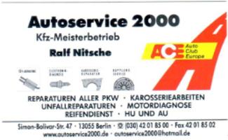 Autoservice 2000 Inhaber Ralf Nitsche