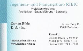 Ingenieur-und Planungsbüro RIBIC