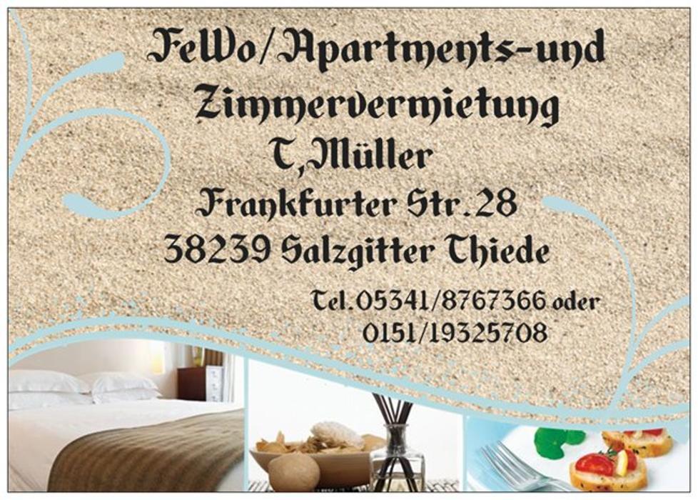 Zimmervermietung Müller/Christofzik GbR