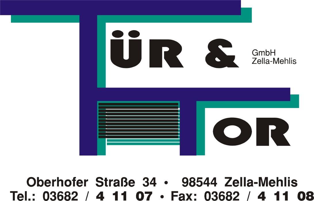 Bild zu Tür & Tor GmbH Zella-Mehlis in Zella Mehlis