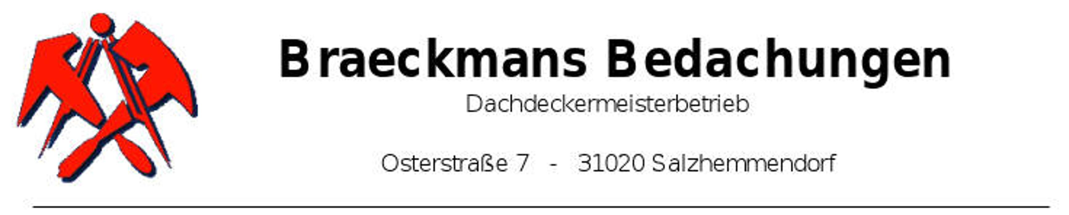 Bild zu Braeckmans Bedachungen in Salzhemmendorf