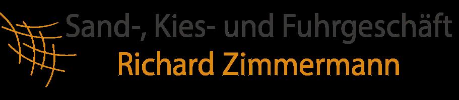 Sand-, Kies- und Fuhrgeschäft Richard Zimmermann