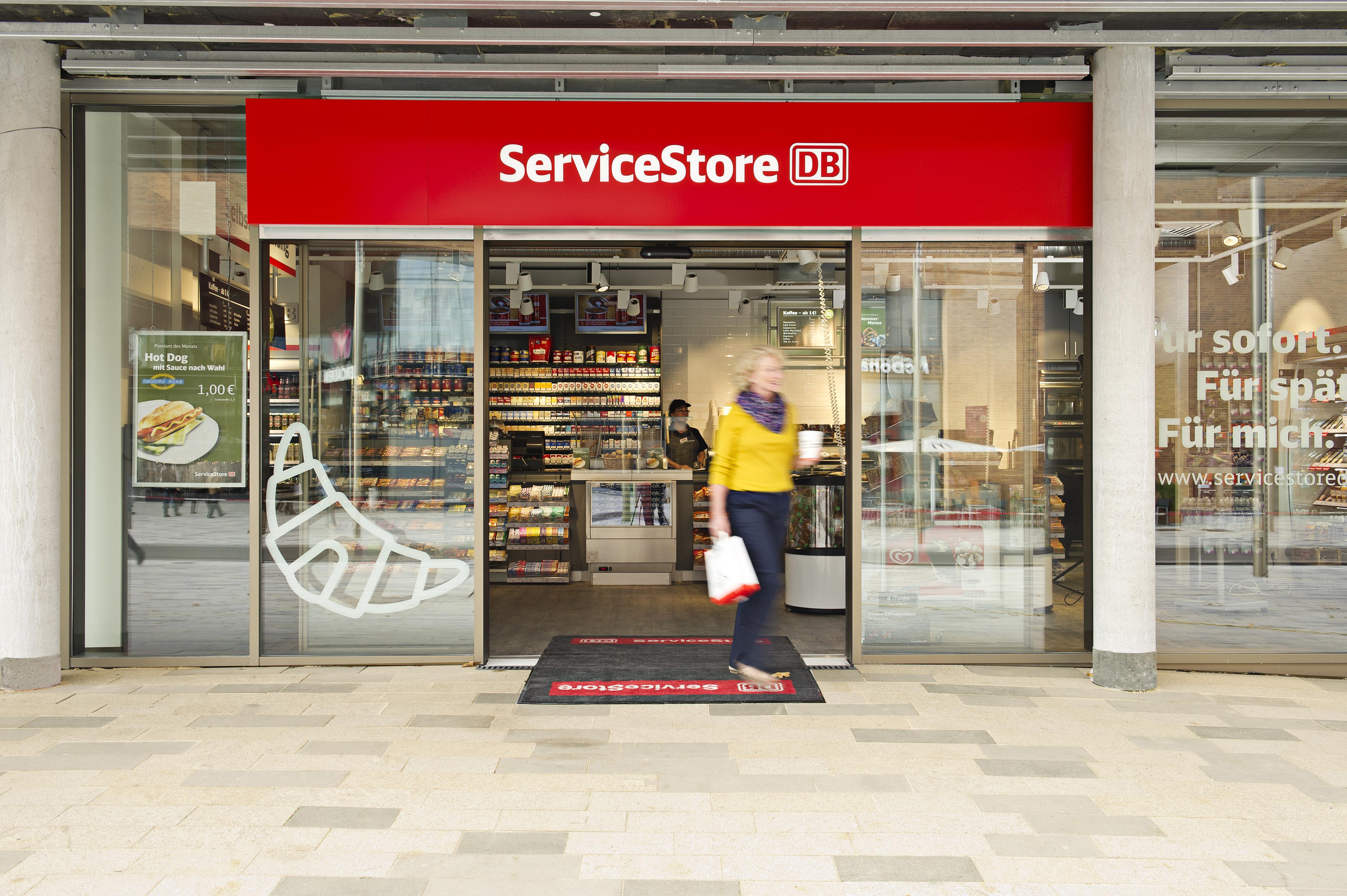 ServiceStore DB - Bahnhof Frankfurt West