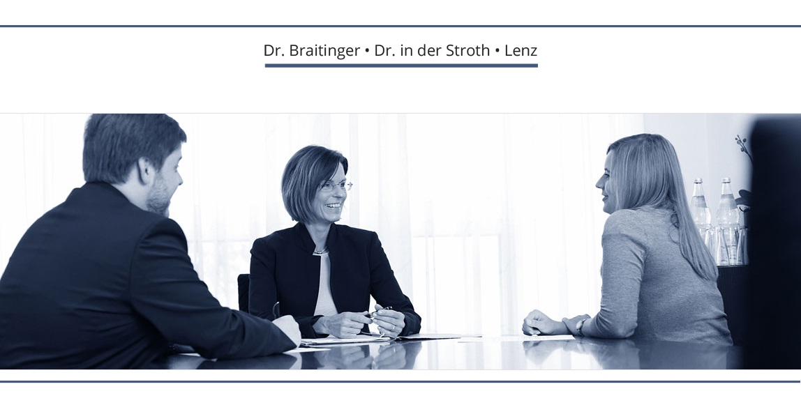 Rechtsanwälte Dr. Braitinger, Dr. in der Stroth & Lenz