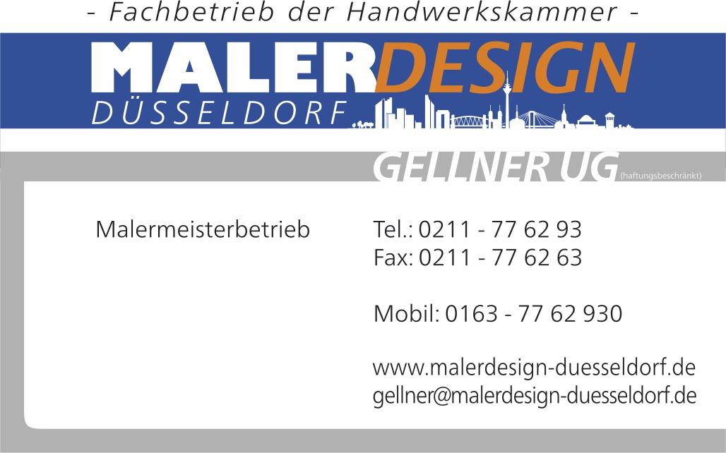 Malerdesign Düsseldorf Gellner UG (haftungsbeschränkt)
