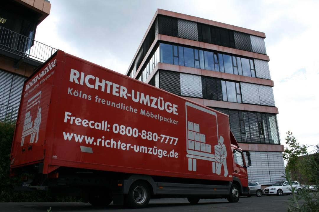 richter umz ge gmbh in k ln branchenbuch deutschland. Black Bedroom Furniture Sets. Home Design Ideas