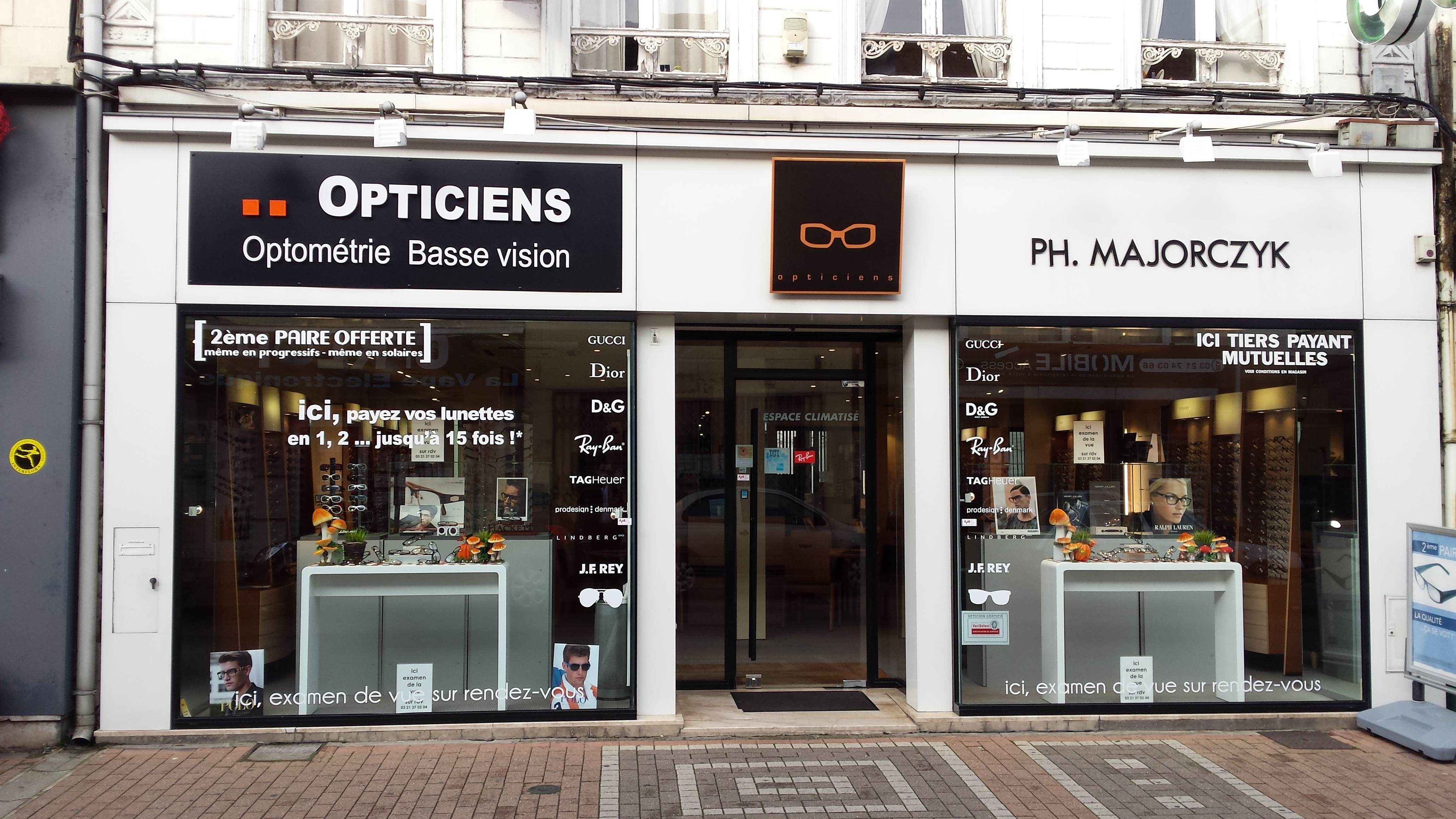 MAJORCZYK Opticiens Lunettes room