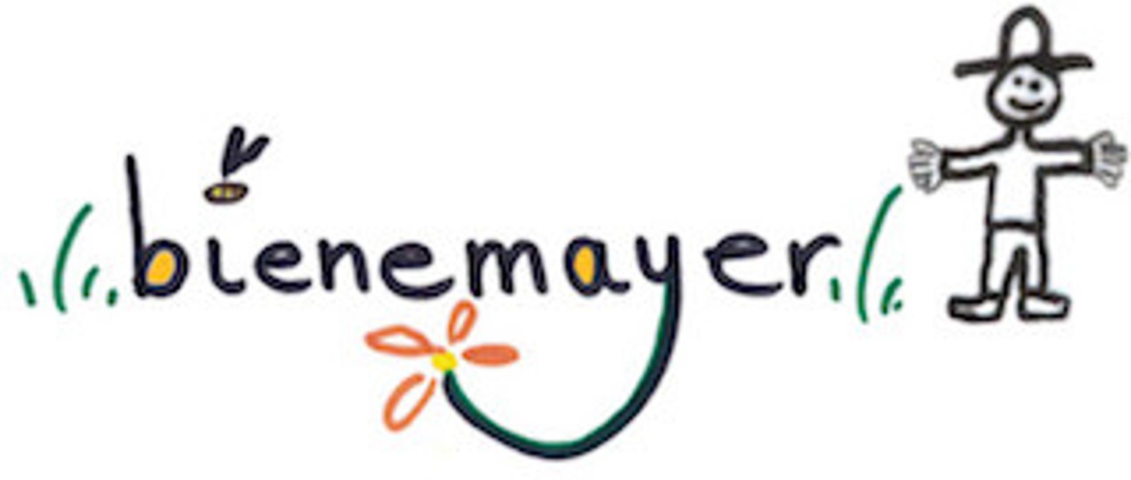 Logo von bienemayer - Augsburger Stadthonig, Imkerschule der besonderen Art, Honigbienen mobil und Wespen&Hornissen-Beratung
