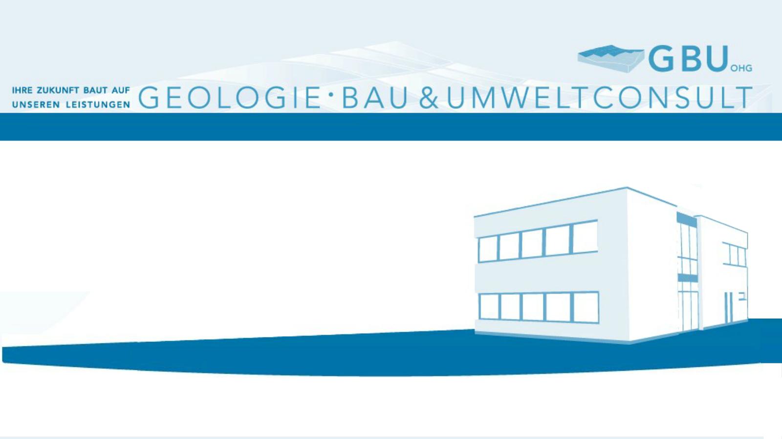 Geologie-, Bau- & Umweltconsult GBU oHG