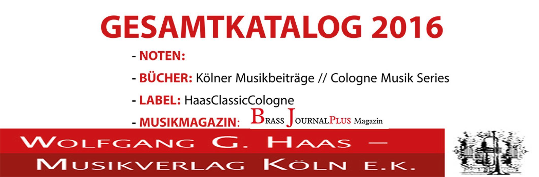 Bild zu Wolfgang G. Haas-Musikverlag Köln e. K. in Köln