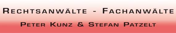 Rechtsanwälte Peter Kunz & Stefan Patzelt Logo